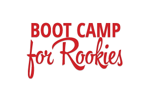 Boot Camp for Rookies